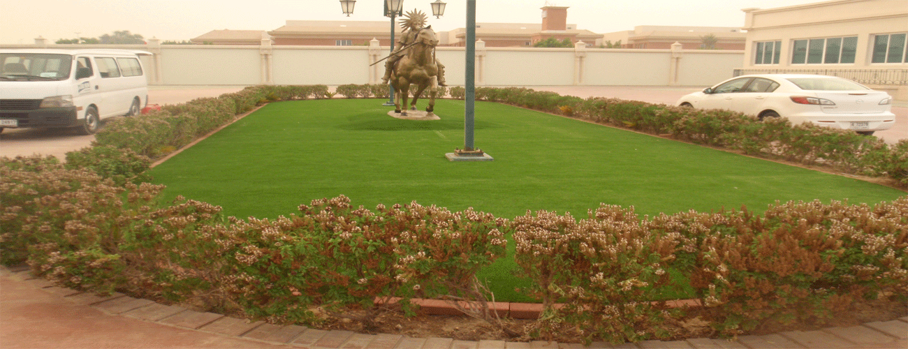 Artificial Grass Installed in UAE