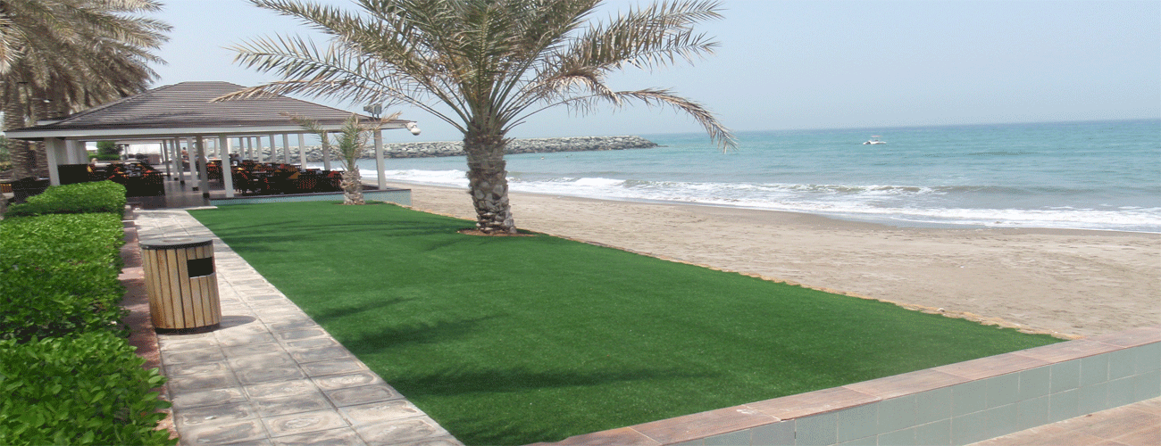 Artificial Grass Installation In Hotels